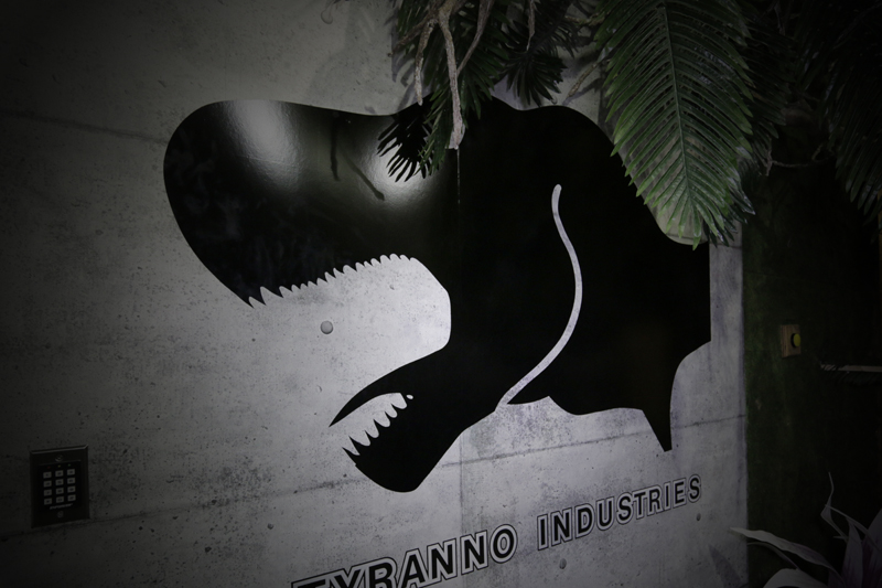 Industries Tyranno decalque mural